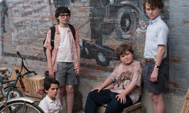 Es mit Finn Wolfhard, Wyatt Oleff, Jeremy Ray Taylor und Jack Dylan Grazer - Bild 2