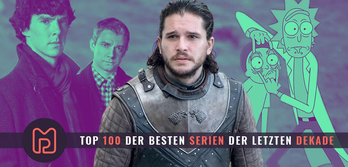 Die 100 besten Serien der letzten 10 Jahre nach eurer Wertung