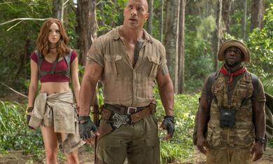 Jumanji - Willkommen im Dschungel mit Dwayne Johnson, Karen Gillan und Kevin Hart - Bild 5