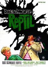 Das schwarze Reptil - Poster