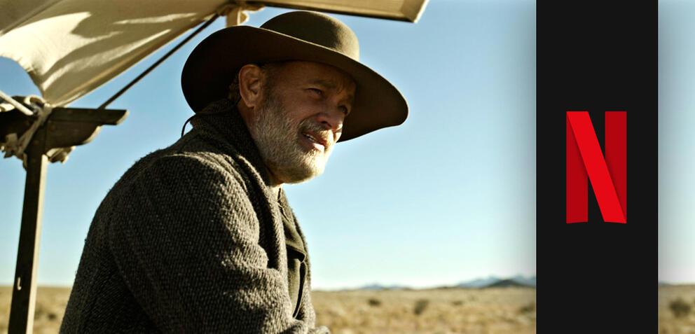 Tom Hanks in Neues aus der Welt