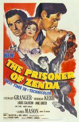 Der Gefangene von Zenda - Poster