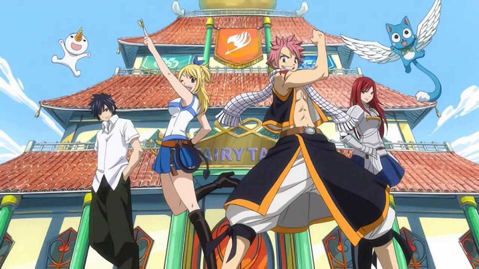 Fairy Tails stärkstes Team
