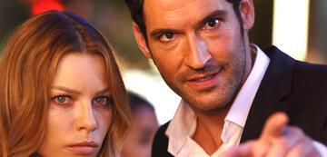 Chloe & Lucifer ... oder ist es Bruder Michael?