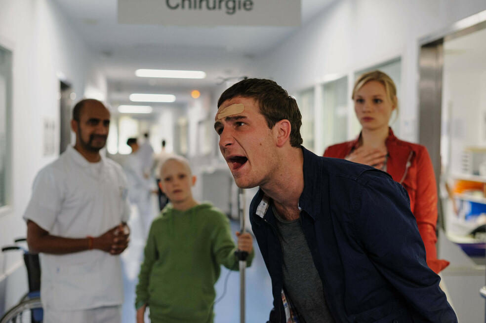 Kreutzer kommt ... ins Krankenhaus