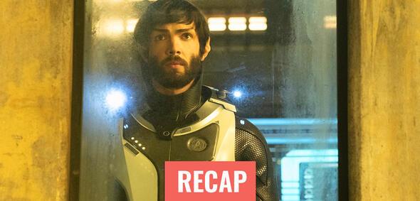 Star Trek: Discovery: Spock traut seinen Augen nicht