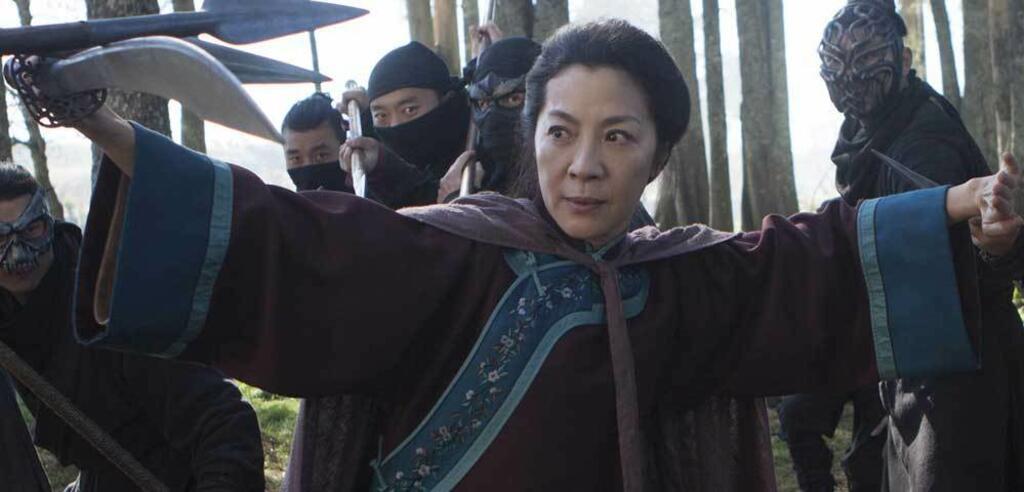 Michelle Yeoh in Tiger & Dragon 2