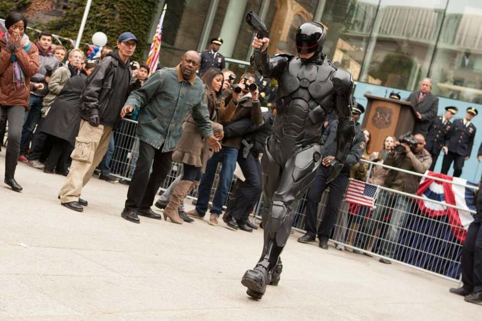 RoboCop mit Joel Kinnaman
