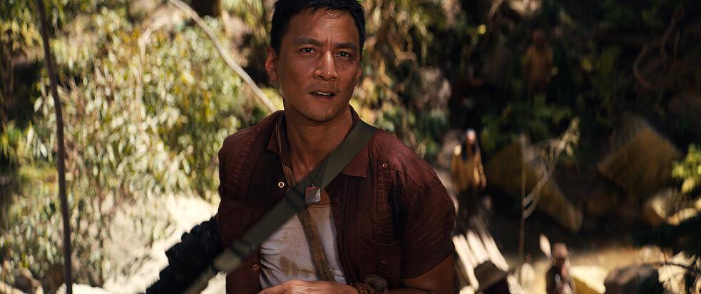 Tomb Raider mit Daniel Wu