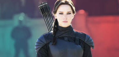 Jennifer Lawrence in den Hunger Games-Filmen
