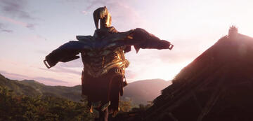 Thanos' abgelegte Rüstung in Avengers 4: Endgame