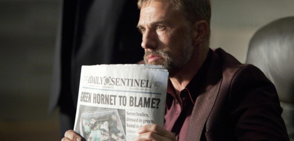 Christoph Waltz in The Green Hornet