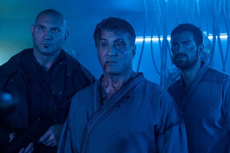 Escape Plan 2: Hades mit Sylvester Stallone, Dave Bautista und Jesse Metcalfe