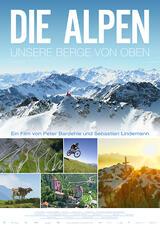 Die Alpen - Unsere Berge von oben - Poster