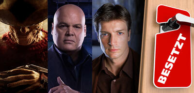 Jackie Earle Haley in Nightmare on Elm Street / Vincent D'Onofrio in Daredevil / Nathan Fillion in Firefly