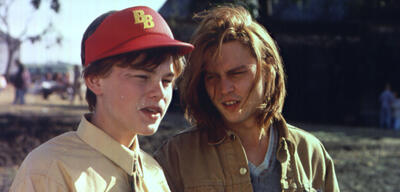 Leonardo DiCaprio und Johnny Depp in Gilbert Grape - Irgendwo in Iowa