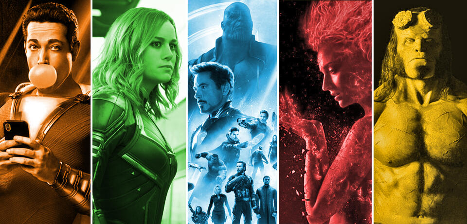 Superhelden 2019 im Kino