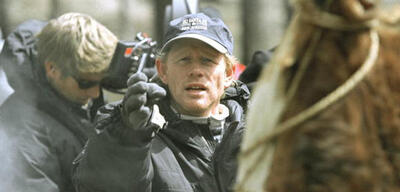 Ron Howard am Set von The Missing