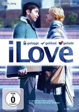 iLove - geloggt, geliked, geliebt - Poster