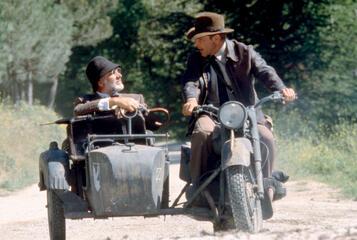 Sean Connery und Harrison Ford