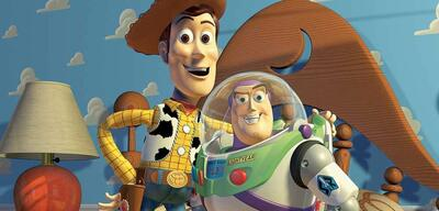 Woody und Buzz Lightyear