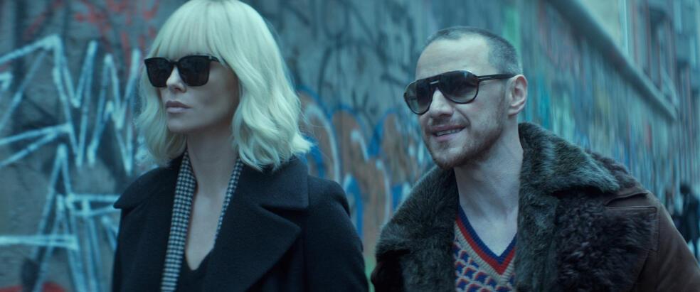 Atomic Blonde mit James McAvoy und Charlize Theron