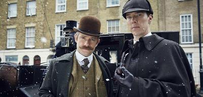 Sherlock mit Martin Freeman undBenedict Cumberbatch
