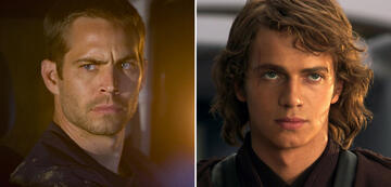 Paul Walker in Fast & Furious 4/Hayden Christensen als Anakin Skywalker