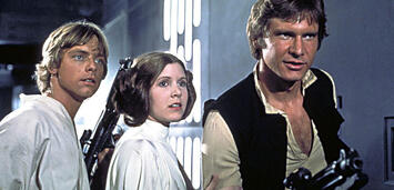 Bild zu:  Luke, Leia und Han aus Star Wars