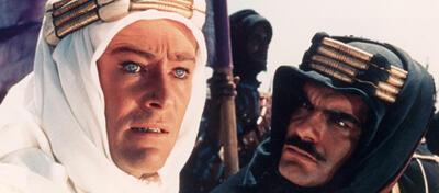 Krass ist der scharf! Peter O'Toole und Omar Sharif in Lawrence von Arabien
