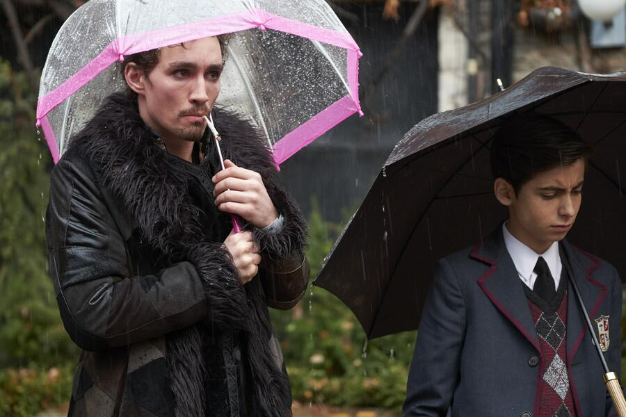 The Umbrella Academy, The Umbrella Academy - Staffel 1 mit Robert Sheehan