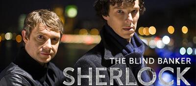 Dr. John Watson (Martin Freeman) & Sherlock Holmes (Benedict Cumberbatch)