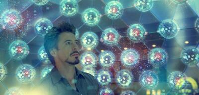 Robert Downey Jr. in Iron Man 2