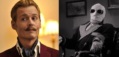 Johnny Depp wird unsichtbar