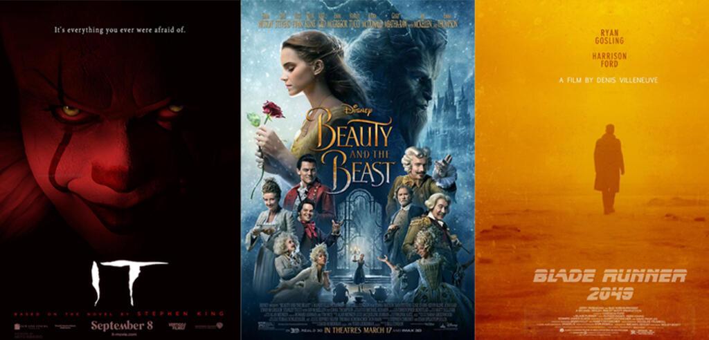 Top 25 der erfolgreichsten Filme 2017 in Deutschland