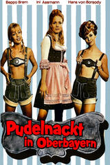 Pudelnackt in Oberbayern - Poster