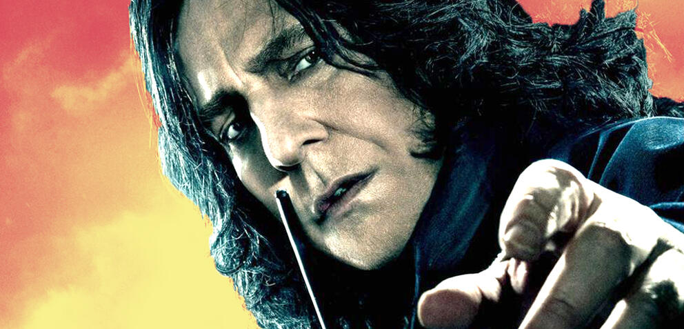Harry Potter: Snape lacht über Dumbledores Abgang