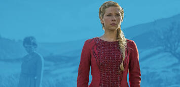 Bild zu:  Katheryn Winnick als Lagertha in Vikings
