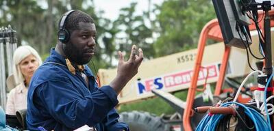 Steve McQueen am Set von 12 Years a Slave