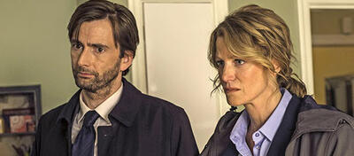 David Tennant und Anna Gunn in Gracepoint