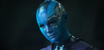 Karen Gillan in Guardians of the Galaxy