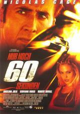 Nur noch 60 Sekunden - Poster