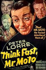 Mr. Moto und der Schmugglerring - Poster