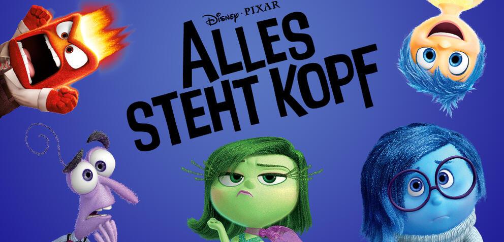 Deutschland Premiere Alles steht Kopf