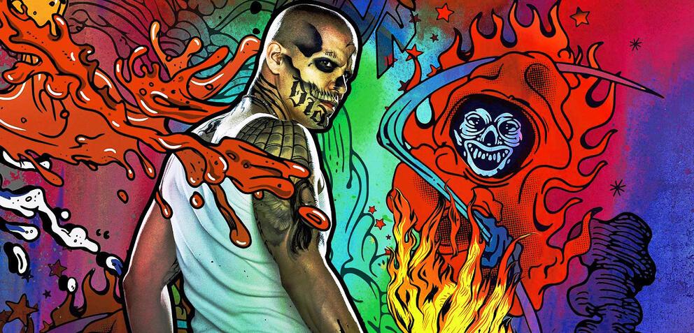 El Diablo auf einem Poster zuSuicide Squad