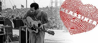 Richie Havens in Woodstock