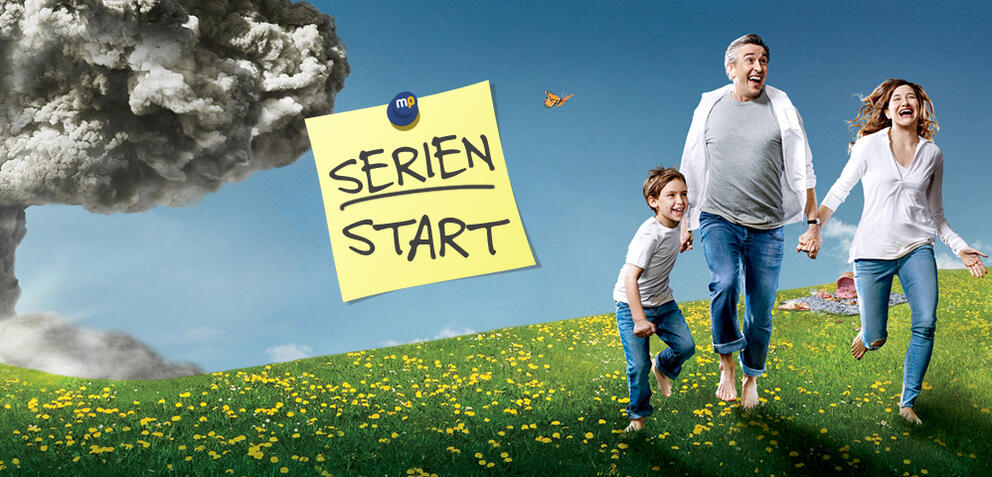 Heute startet die 1. Staffel von Happyish auf Sky Atlantic HD