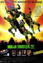 Ninja Turtles III Poster