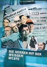 Die Herren mit der weißen Weste - Poster