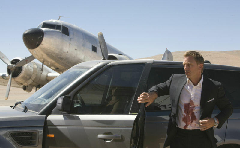 James Bond 007 - Ein Quantum Trost mit Daniel Craig